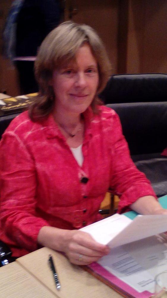 Sabine Roth bei der Haushaltsdebatte