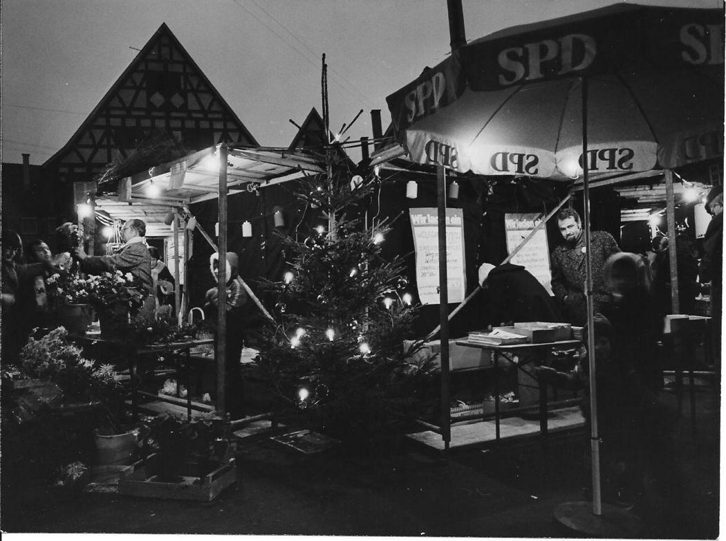 Weihnachtsmarkt 1975
