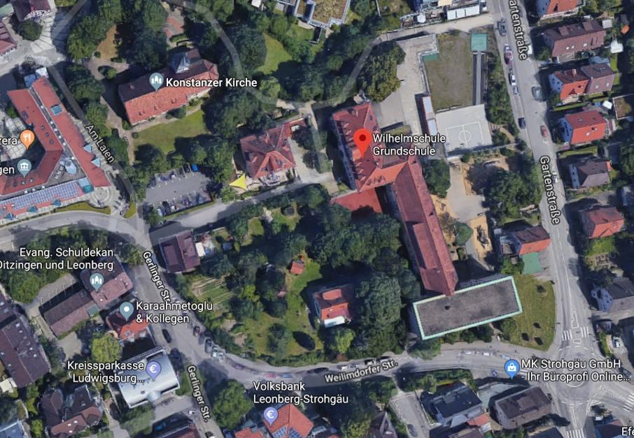 Areal der Wilhelmschule